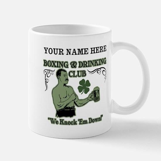Personalizable Irish Club Mug