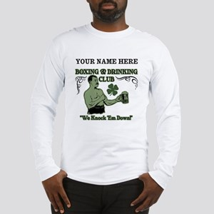 Personalizable Irish Club Long Sleeve T-Shirt