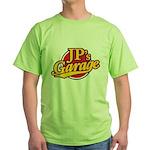 JP's Garage Green T-Shirt