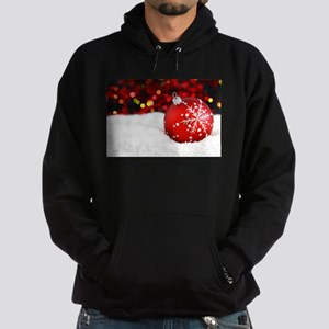 red christmas ornament Hoodie