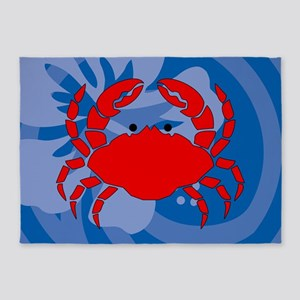 Crab 5'x7'Area Rug