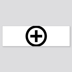 Collared (female) Bumper Sticker