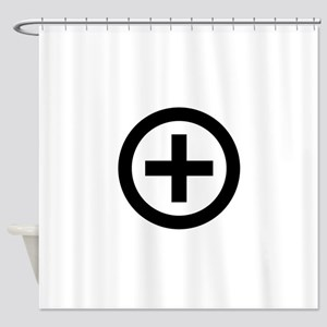 Collared (female) Shower Curtain