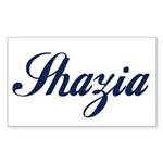 Shazia name Sticker