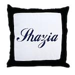 Shazia name Throw Pillow