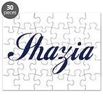 Shazia name Puzzle