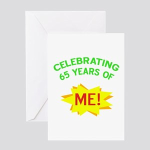 Celebrate My 65th Birthday Greeting Card