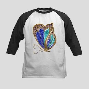Bejeweled Butterfly Baseball Jersey