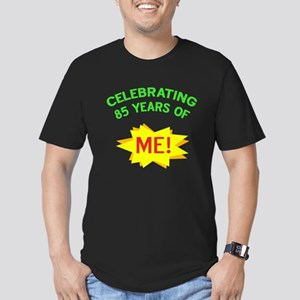 Celebrate My 85th Birthday Men's Fitted T-Shirt (d