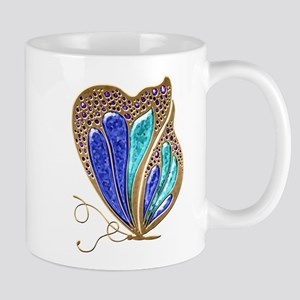 Bejeweled Butterfly Mug