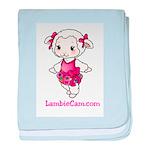 New Lambie Logo baby blanket