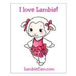 New Lambie Logo Posters