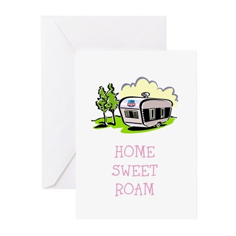 HOME SWEET ROAM Greeting Cards (Pk of 10)