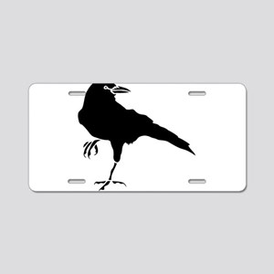 Crow Aluminum License Plate