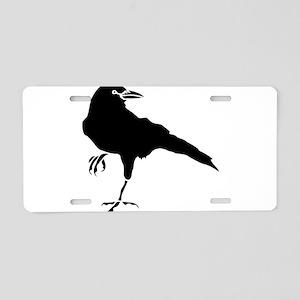 Crow Aluminum License Plate