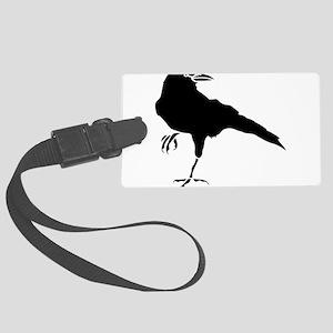Crow Luggage Tag