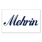 Mehrin name Sticker