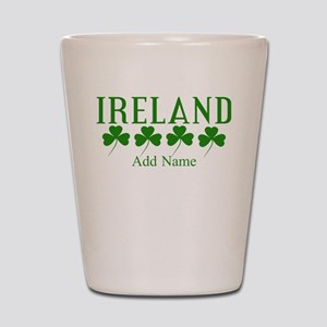 Lucky Irish Shamrocks Shot Glass