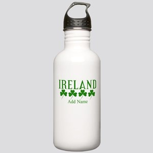 Lucky Irish Shamrocks Water Bottle