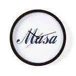Musa name Wall Clock