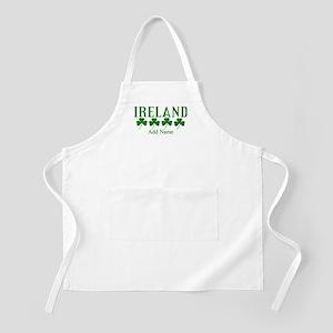 Lucky Irish Shamrocks Apron