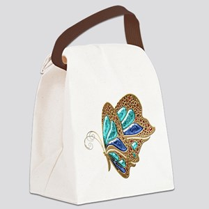 Exceptional Butterfly Canvas Lunch Bag