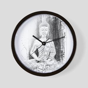 Zen Buddha Art Wall Clock