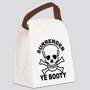 Surrender Ye Booty Canvas Lunch Bag