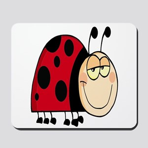 cute goofy cartoon grinning little ladybug Mousepa