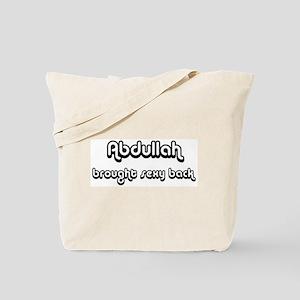 Sexy: Abdullah Tote Bag