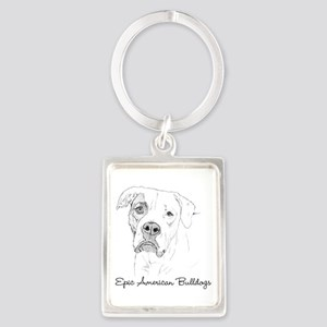 NEW! Epic American Bulldogs Keychain