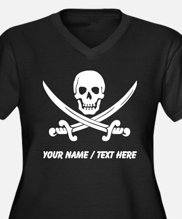 Custom Pirate Plus Size T-Shirt