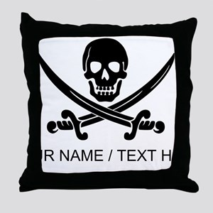 Custom Pirate Throw Pillow
