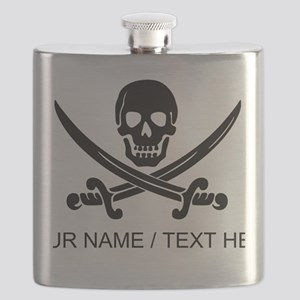 Custom Pirate Flask