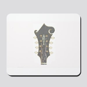 Plaid Mandolin Headstock Mousepad