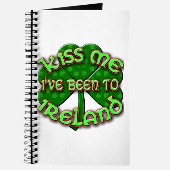 KISS ME I've Been to IRELAND Journal