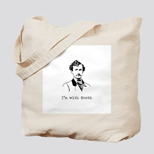 I'm with Booth Tote Bag