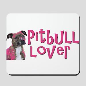 pitbull lover Mousepad