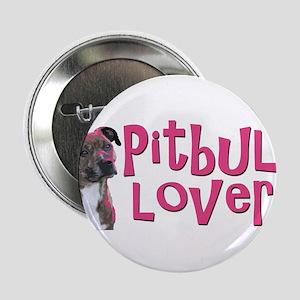 """pitbull lover 2.25"""" Button"""