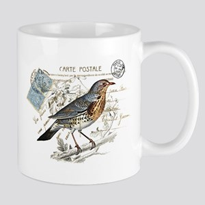 Blue Bird Carte Postale Mug