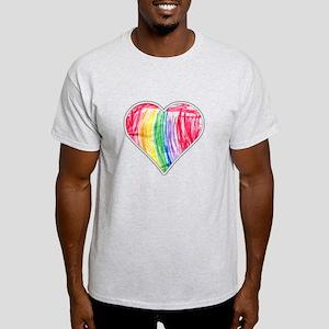 A Paper Heart Design T-Shirt