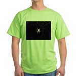 Spooky Spider Green T-Shirt