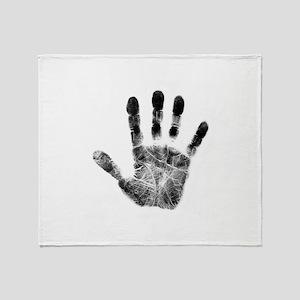 Handprint Throw Blanket