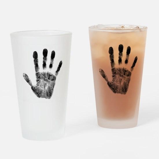 Handprint Drinking Glass