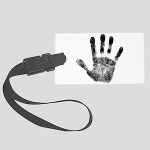 Handprint Luggage Tag