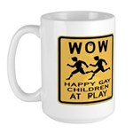 Truthdig Wow Mug