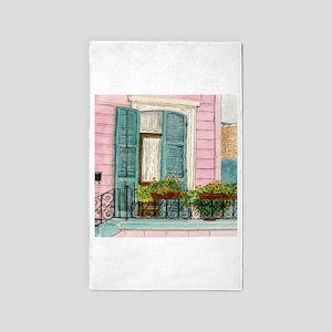 New Orleans Door 3'x5' Area Rug