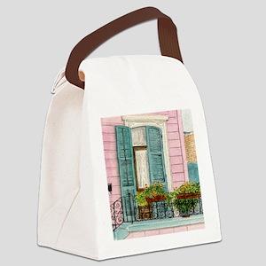 New Orleans Door Canvas Lunch Bag