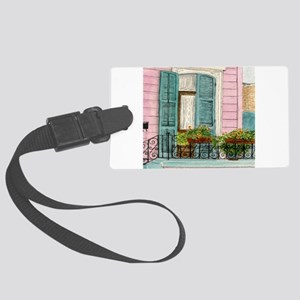 New Orleans Door Large Luggage Tag