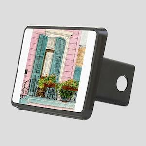 New Orleans Door Rectangular Hitch Cover